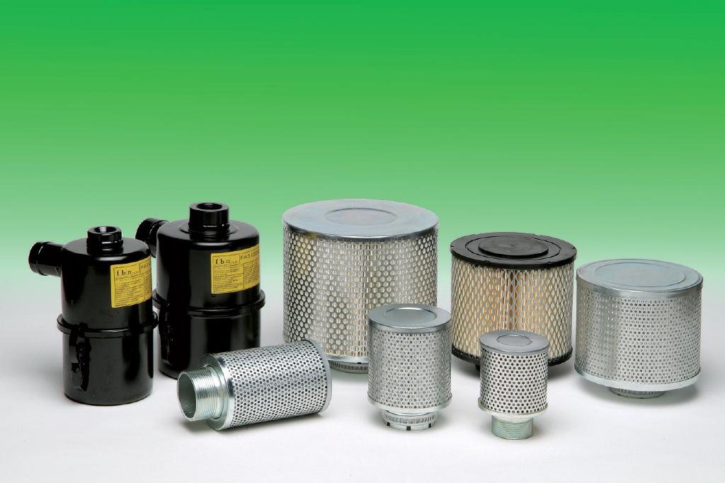 Filtri aria a bagno olio ed aspirazione per compressori e for Pompe e filtri per laghetti da giardino